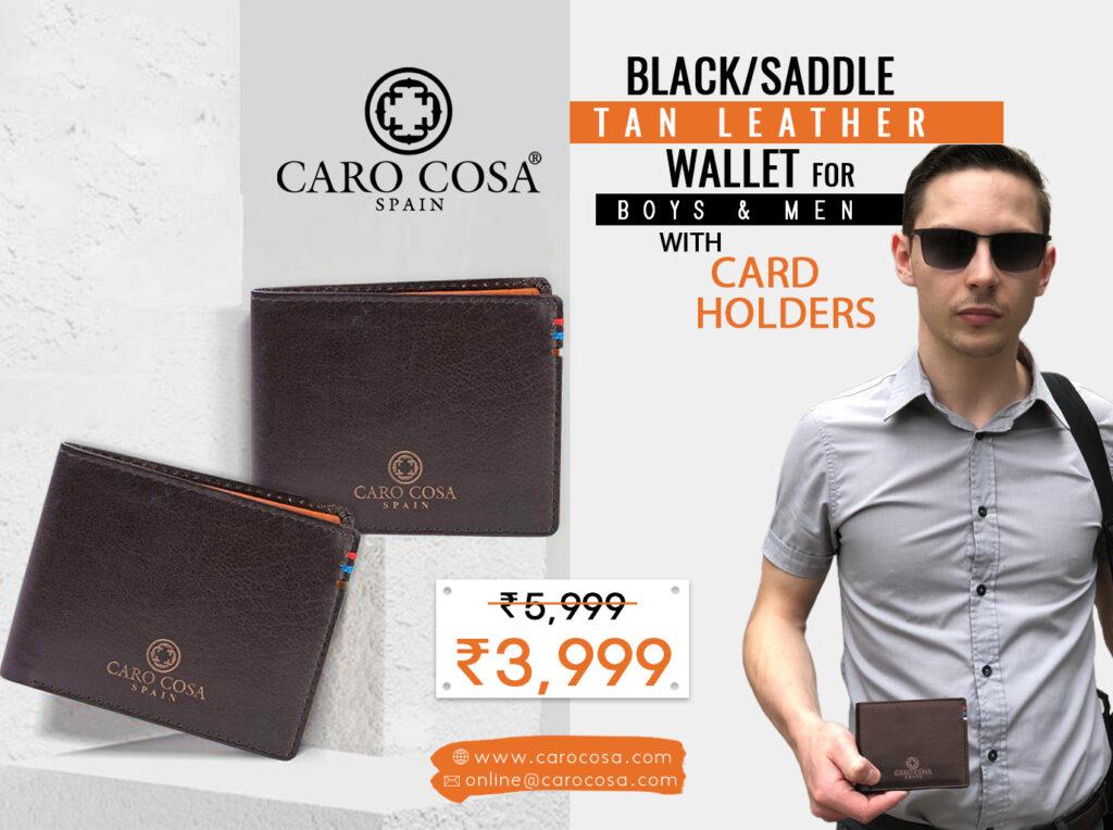 Top men's wallet brands in India